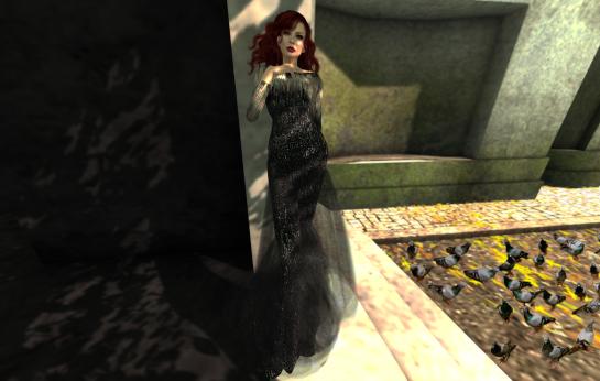 countdown majestic noir gown