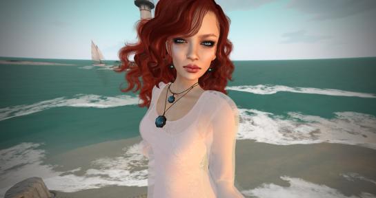 Fara dress - white_007
