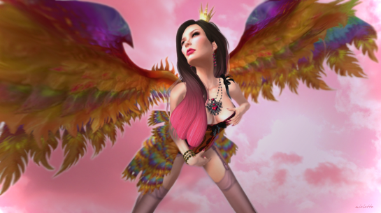 vm rainbow angel